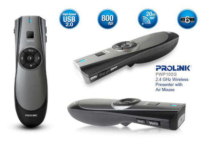 Prolink pwp102g wireless presenter