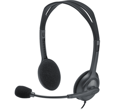 Logitech Headset h111 Single 3.5mm