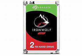 Seagate IronWolf 2TB Enterprise NAS SATA harddrive