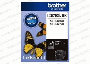 Brother LC679XL BK High Yield Ink Cartridge