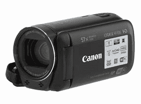 Canon legria HFR86 BK kit camera