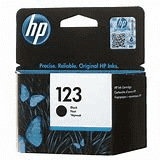 hp F6V17AE no.123 BK Ink Cartridge