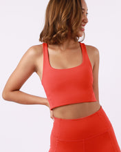 Load image into Gallery viewer, Groove Basic Tank Bra in Tomato