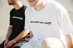 'Against All Odds' Essential White Tee