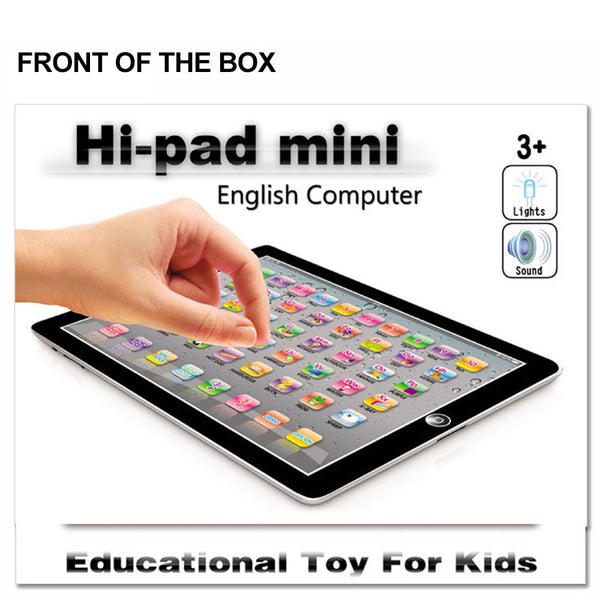 Change Language Children Learning Machine Computer Russian Education Tablet Toy Gift for Kid Convenient To Use Nice Toy