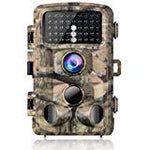 Campark Trail Game Camera 14Mp 1080P Waterproof Hunting Scouting Cam For Wildlife Monitoring With 120Detecting Range Motion Activated Night Vision 2.4 Lcd Ir Leds