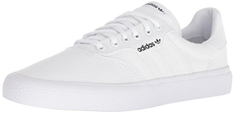 Adidas Originals 3 Mc Skate Shoe White/Gold Metallic, 10.5 M Us
