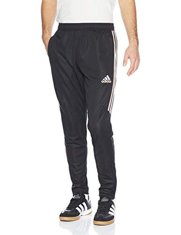 Adidas Men'S Soccer Tiro 17 Training Pant, Black/Haze Coral, Small