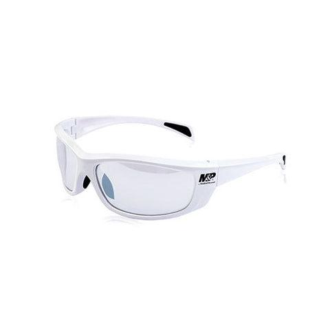 Smith &Amp; Wesson M&Amp;P Whitehawk Full Frame Shooting Glasses With No-Slip Rubber, Impact Resistance And Anti-Fog Lenses For Shooting, Working And Everyday Use