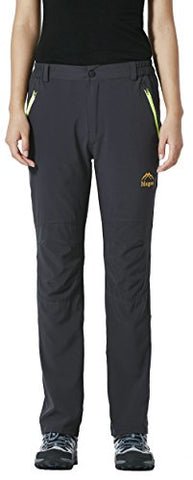 Lancerpac Quick Dry Lightweight Women'S Breathable Hiking Pants Outdoor Gray L
