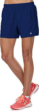 Women'S High Five Running Shorts 5-Inch Length | Multiple Pockets And Inner Brief, H. Midnight Blue, M