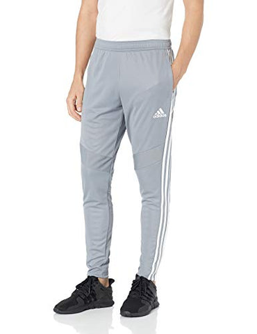 Adidas Mens Soccer Tiro 19 Training Pant, Grey/White, Xx-Large