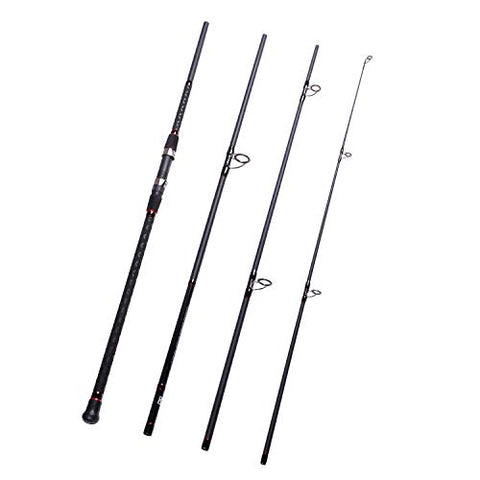 Fiblink Surf Spinning Fishing Rod 4-Piece Graphite Travel Fishing Rod(11-Feet &Amp; 13-Feet &Amp; 15-Feet) (Length: 13')