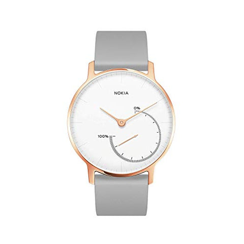Nokia Health 3700546704130 Nokia Steel Limited Edition - Activity &Amp; Sleep Watch, Rose Gold