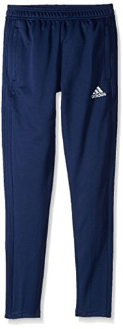 Adidas Youth Condivo 18 Training Pants, Dark Blue/White, Large