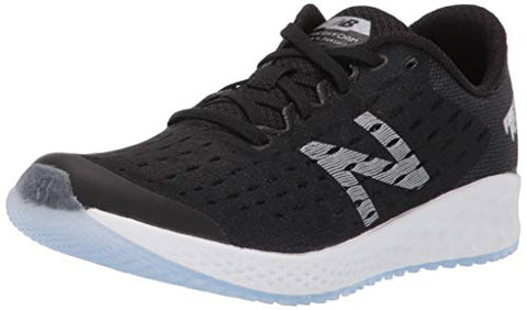 New Balance Boys' Zante Pursuit V5 Fresh Foam Running Shoe Black/Silver 3.5 M Us Big Kid