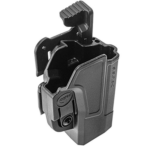 Orpaz Sig P320 Holster Fits Sig Sauer P320 And Sig P250 Full Size And Compact (Right Hand, Level 2 Thumb Release Molle Holster)