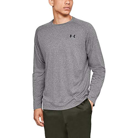 Under Armour Ua Tech 2.0 Xl Charcoal Light Heather