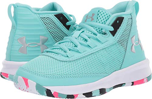 e8e410da Under Armour Girls' Pre School Jet 2018 Basketball Shoe Mermaid (300)/Black  2 M Us Little Kid