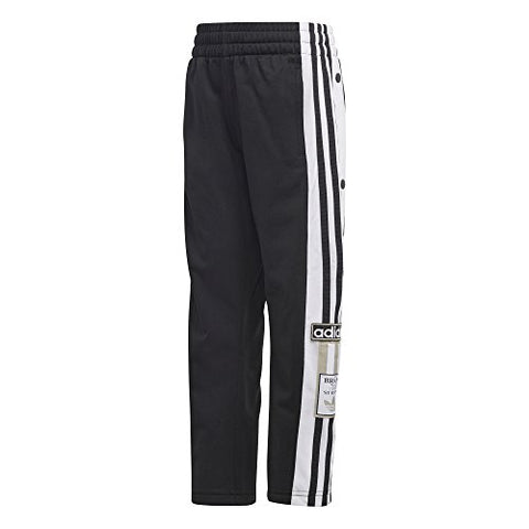Adidas Originals Kids' Toddler Adibreak Trackpants, Black/White 4T