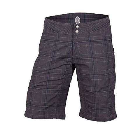 Club Ride Apparel Ventura Plaid Short - Women'S Asphalt, S