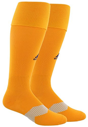 Adidas Metro Iv Soccer Socks , Lucky Orange/Unity Ink, Large