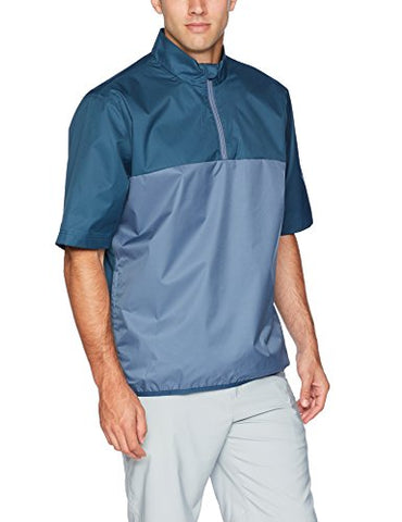 Adidas Golf Climastorm Provisional Short Sleeve Rain Jacket, Sub Blue, Xx-Large