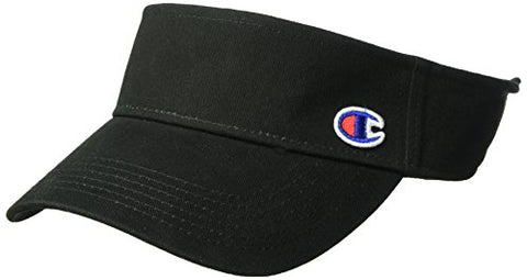 Champion Men'S Father Visor, Black Os