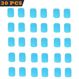 Beauty Plus 30Pcs Of Abs Trainer Replacement Gel Pads Abdominal Trainer Accessories Mobile-Gym Smart Fitness Ems Fit Boot Toner Gel Sheets (2 Pcs/Pack, 15 Packs/Set)