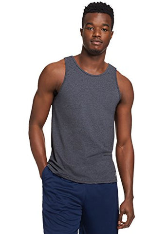Russell Athletic Men'S Essential Tank, Black Heather, Xl