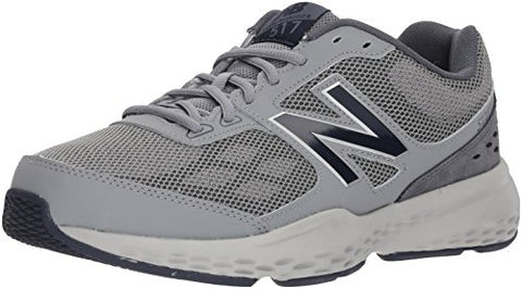 New Balance Men'S Mx517V1 Training Shoe, Grey/Navy, 10 D Us
