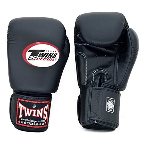 Twins Gloves For Training And Sparring Boxing, Muay Thai, Kickboxing, Mma (Black,14 Oz)
