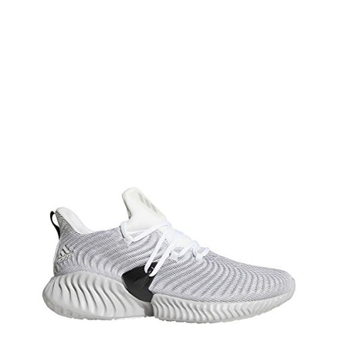 Adidas Men'S Alphabounce Instinct Running Shoe White/Grey Two/Black 9.5 M Us