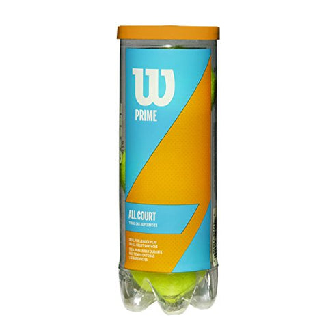 Wilson Prime All Court Tennis Ball 3 Ball Can