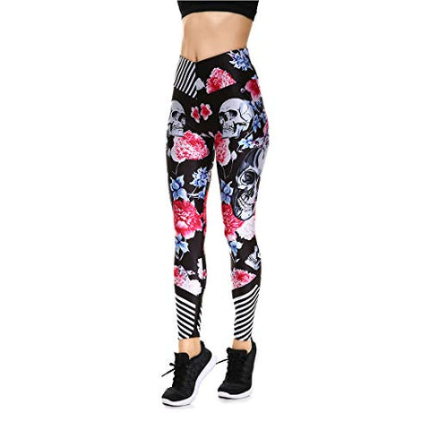 Lesubuy V Wide Waistband Full Length High Waisted Compression Gym Athletic Exercise Leggings Workout For Women Xs Totem