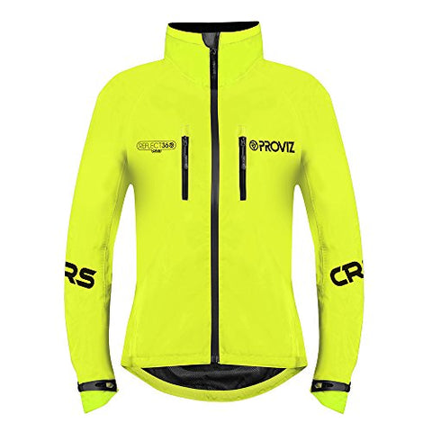Proviz Womens Reflect360 Crs (Colour Reflective System) Cycling Jacket - Yellow - 2
