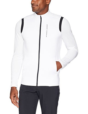 Under Armour Men'S Storm Daytona Vest, White (100)/Black, Large