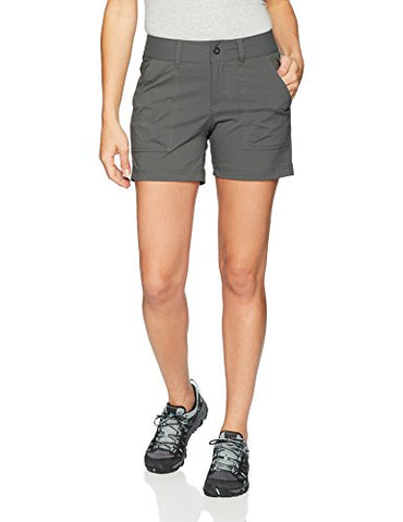 Columbia Women'S Silver Ridge Stretch Ii Shorts, Size 12, Grill