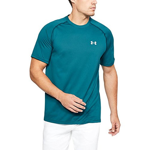 Under Armour Men'S Tech Short Sleeve T-Shirt, Tourmaline Teal (716)/Tin, Xxxx-Large