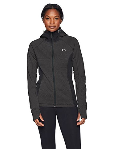 Under Armour Women'S Swacket 3.0, Black (001)/Tonal, Large