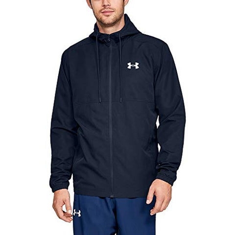 Under Armour Ua Sportstyle Woven Full Zip Xxl Academy