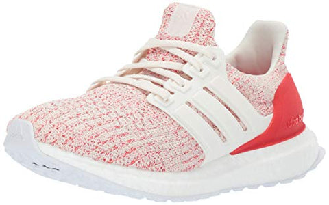 Adidas Unisex Ultraboost, Chalk White/Active Red, 3.5 M Us Big Kid