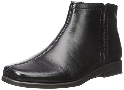Aerosoles Women'S Double Trouble 2 Ankle Bootie Black Leather 7.5 M Us