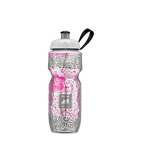 Polar Bottle Insulated Water Bottle - 20Oz (Island Blossom), Island Blossom, 20 Oz