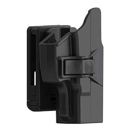 Taurus Pt111 G2 Holster, Gun Owb Belt Holsters Fits Taurus Millennium G2 Pt111 Pt132 Pt138 Pt140 Pt145 Pt745, Outside The Waistband Polymer Holster Right Handed, Black