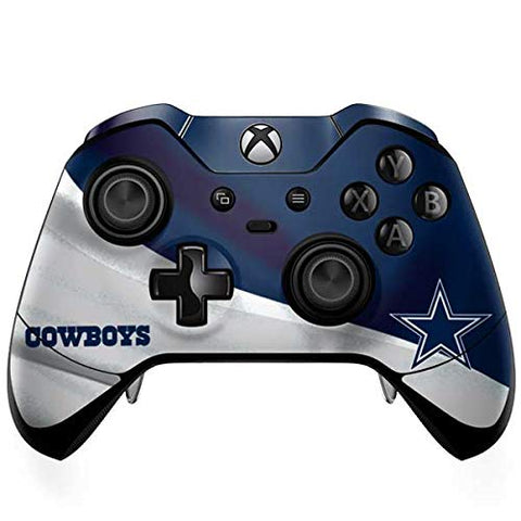 Skinit Dallas Cowboys Xbox One Elite Controller Skin - Officially Licensed Nfl Gaming Decal - Ultra Thin, Lightweight Vinyl Decal Protection