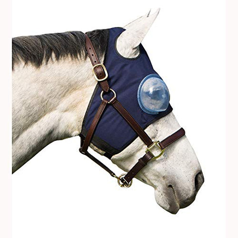 Intrepid International Protection Medical Horse Hood - Horse Size Right Eye