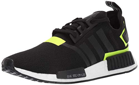 Adidas Originals Men'S Nmd_R1 Running Shoe Black/White 1, 8.5 M Us