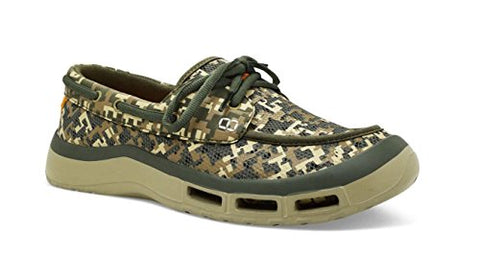Softscience The Fin 2.0 Men'S Fishing/Boating Shoes - Sage Digi Camo, Size 7