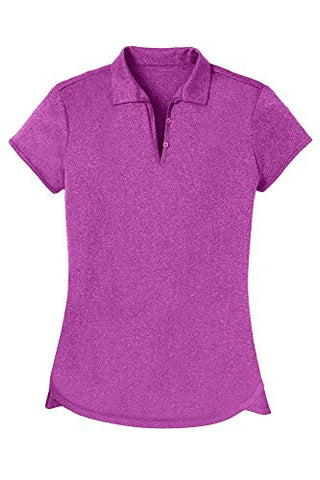 Opna Womens Ladies Moisture Wicking Athletic Golf Polo Shirts Tops &Amp; Tees